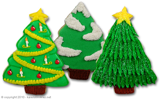 There are countless ways to decorate Christmas tree cookies! Here are ...