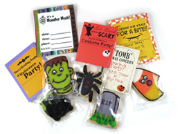 cookie halloween invitations