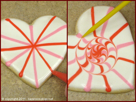 Kiss me sunday hello it 39 s valentine series 2 butter for Decoration biscuits de noel
